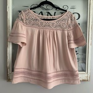 BB Dakota Penny Dusty Rose Top